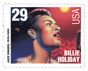On September 18, 1994, the United States Postal Service honored Holiday by introducing a USPS-sponsored stamp