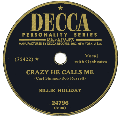 """Crazy He Calls Me"" single is released"